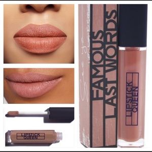 Lipstick Queen famous last works SEE YA...